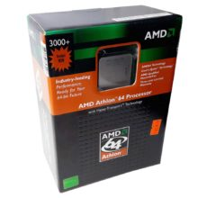Процессор (CPU) Athlon 3000+ Socket 939 с кулером BOX