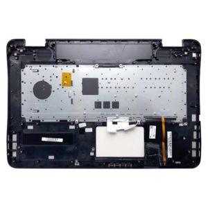 Верхняя часть корпуса с клавиатурой для ноутбука Asus G771J, G771JM, G771JW, GL771, GL771J, N751J, N751JK без тачпада, с подсветкой (13NB0756AM0311, 3BBK3TCJN20, 0KNB0-662CRU00, AEBK3702010, BK3,  NSK-UPQBQ, 9Z.N8BBQ.Q0R)