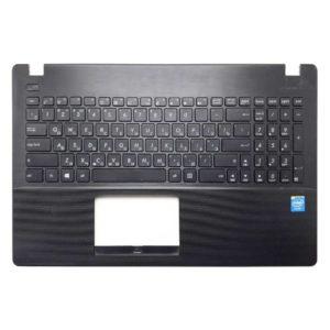 Верхняя часть корпуса с клавиатурой для ноутбука Asus X551, A551, F551, P551, D550, R512, X551M, X551C, A551C, A551M, F551C, F551M, F551C, P551C, D550M, D550C, R512C, R512M без тачпада, Black Черная (13NB0481AP0321, 39XJCTCJN60, 13NB0341P03413-1, 0KNB0-612GRU00, AEXJC701010, 9Z.N8SSQ.80R)