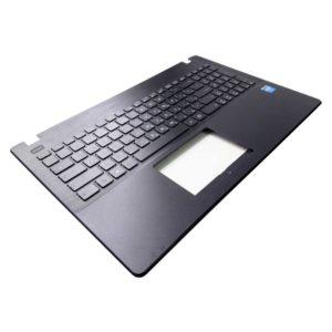 Верхняя часть корпуса с клавиатурой для ноутбука Asus X551, X551CA, X551MA без тачпада, Black Черная (13NB0481AP0321, 39XJCTCJN60, 13NB0341P03413-1, 0KNB0-612GRU00, AEXJC701010, 9Z.N8SSQ.80R)