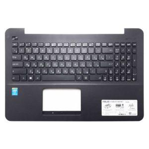 Верхняя часть корпуса с клавиатурой для ноутбука Asus X554L, A555L, A555LA, A555LB, A555LD, A555LF, A555LN, A555LP, F555L, F555LA, F555LD, F555LJ, F555LN, F555LP, K555L, K555LA, K555LD, K555LI, K555LJ, K555LN, K555LP, K555Z, K555ZA, K555ZE, R511L, R511LB, R556L, R556LA, R556LD, R556LJ, R556LN, R556LP, X554LA, X554LD, X554LI, X554LJ, X554LN, X554LP, X555D, X555DA, X555DG, X555L, X555LA, X555LB, X555LD, X555LF, X555LI, X555LJ, X555LN, X555LP без тачпада, Black Черная (13N0-R7A1201, MP-13K93SU-5283, 0KN0-R91RU, 0KNB0-610MRU)