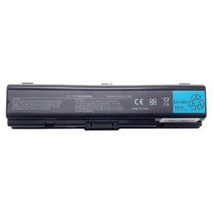 Аккумуляторная батарея для ноутбука Toshiba Satellite A200, A205, A210, A215, A300, A305, A350, A355, A500, A505, L200, L300, L305, L450, L455, L500, L505, L550, L555, M200, M205, A350D, A355D, A500D, A505D, L300D, L305D, L500D, L505D, L550D, Dynabook AX, AXW, EX, EXW, PXW, T30, T31, TX, TXW, TV 11.1V 5200mAh/58Wh Black Черная (PA3534, PA3534U-1BRS)