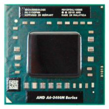 Процессор AMD A6-3400M 4x1400MHz Socket FS1 (AM3400DDX43GX) Б/У