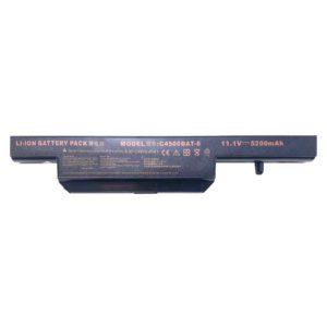 Аккумуляторная батарея для ноутбука DNS 0162456, 0149447, 0150166, 0155833, 0161102, 0161145, 0161147, 0162453, 0151829, 0161133, 0161140, 0161504, 0161712, 0161882, 0162129, 163416, 0155814, 0137235 11.1V 5200mAh Black Черная (C4500BAT-6, 6-87-C480S-4G41)