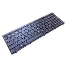 Клавиатура для ноутбука Lenovo G570, G770, G780, B590, B580, V580 Black Черная (25-0170818B, 23B93-RU)