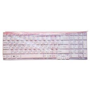 Клавиатура для ноутбука Sony Vaio VPC-EB, VPCEB, PCG-71211V без рамки, White Белая (90.4MP07.S0, V111678B US, V111678A-US)