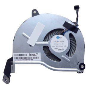Вентилятор, кулер для ноутбука HP 15-n, 15-n000, 15-Nxxx, 14-n, 14-n000, 14-Nxxx 4-pin (FAU8300EPA, 736278-001, KPT45U83TP20)
