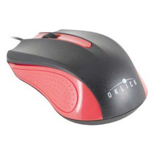 Мышь USB Oklick 225M Black/Red Черно-красная
