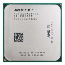 Процессор AMD FX-6100 AM3+, 6x3300 МГц, L2 - 6 Мб, L3 - 8 Мб, 2xDDR3-1866 МГц,OEM (FD6100WMW6KGU)