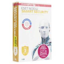 ПО Антивирус Eset NOD32 Smart Security 3 ПК 1 год продление лицензии (NOD32-ESS-RN(BOX3)-1-1)