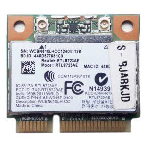 Модуль Wi-Fi 802.11b/g/n + Bluetooth 4.0 для ноутбука DNS C15B, C17B, Toshiba C850, L850, C855, L855 (Realtek RTL8723AE, WCBN610LH, WCBN610LH-CC, S-BJABKJD)