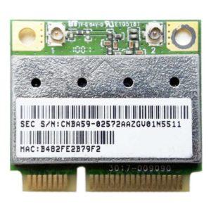 Модуль Wi-Fi Mini PCI-E Atheros AR5B95 для ноутбука Samsung R510, R515, R520, R523, R525, R528, R530, R540, R580, R730, RV510 (CNBA59-02572, ATH-AR5B95)