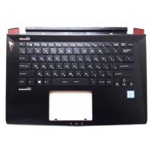 Верхняя часть корпуса с клавиатурой и подсветкой для ноутбука MSI GS43VR без тачпада (E2P4A10213TA2, E2P-4A10213-TA2, 3074A10213HG0, HMB3709SMB12, S1N2ERU) Уценка!
