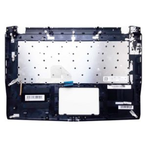 Верхняя часть корпуса с клавиатурой и подсветкой для ноутбука MSI GS43VR, GS43VR 7RE Phantom Pro без тачпада (E2P-4A10214-TA2-1, E2P-4A10XXX-TA2, E2P4A10214TA2, 3074A3C215HG0, V161622ES1, S1N2ERU)