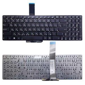 Клавиатура для ноутбука Asus A55, A55A, A55D, A55De, A55Dr, A55N, A55V, A55VD, A55VJ, A55VM, A55VS, K55, K55A, K55V, K55VD, K55VJ, K55VM, K55VS, K75V, K75VD, K75A, K75VJ, K75VM, S56, U57, R500, R700Vj, K55XI, K55N, U57A без рамки, Black Черная (K55-RU, 24S61-RU, V19021A)