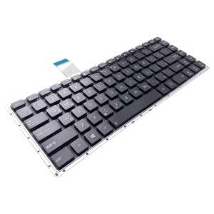 Клавиатура для ноутбука Asus F401, F401A, F401U, X401, X401A без рамки, Black Черная (OEM)