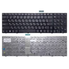 Клавиатура для ноутбука MSI A6200, A6205, A6500, CR620, CR630, CR650, CR720, CX605, CX620, CX620MX, CX623, CX705, CX720, FX600, FX610, FX700, GE600, GE620, GE620DX, GE700, GT660, GT680, GT683, GX660, GX680, MS168, S6000 с рамкой, Black Черная (V111922AK1 UK)