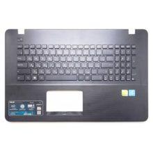 Верхняя часть корпуса с клавиатурой для ноутбука Asus K751, K751S, K751SA, K751M, K751MA без тачпада, Black Черная (13N0-TXA0201, 13NB04I1AP0401, MP-11G33SU-5282W, 0KN0-TX1RU12, 0KNB0-610KRU00)