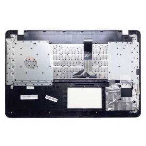 Верхняя часть корпуса с клавиатурой для ноутбука Asus K751S, K751N, X751M, X751L, X751N, R752M без тачпада, Black Чёрная (13N0-TXA0201, 13NB04I1AP0401, MP-11G33SU-5282W, 0KN0-TX1RU12, 0KNB0-610KRU00)