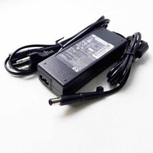 Блок питания для ноутбука HP 19.5V 4.62A 90W 7.4×5.0 с иглой, кабель питания 2-pin в комплекте (PA-1900-08H2, PPP012L-S, 384020-001, 391173-001, AC-N226, AC-N226-A)
