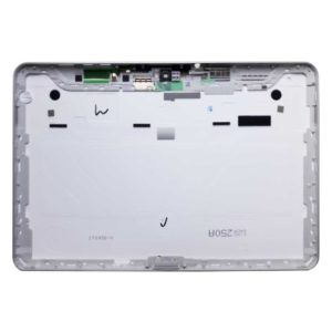 Крышка планшета Samsung Galaxy Tab 10.1 P7500, GT-P7500 3G Цвет: Белый, Окантовка: Серебристая (PC-GF20, GP7500, GP7500 V1, IT0930-V, KINXQ4CA250A)