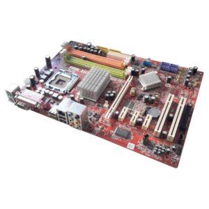 Материнская плата MSI P35 Neo-F LGA775 Intel P35 4xDDR2 PCI-E x16, 3xPCI-E x1, 2xPCI, GbLAN SATA, IDE, FDD, ATX (MS-7360) Уценка!