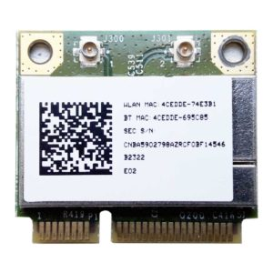 Модуль Wi-Fi 802.11b/g/n + Bluetooth PCI-E Minicard BROADCOM BCM94313HMGB для ноутбука Samsung R525, R528, R538, R540, E352 (CNBA5902798, WLL6230B-D99)