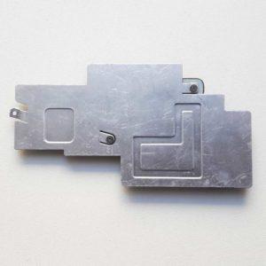 Радиатор, термопластинка c креплением CPU процессора для ноутбука Toshiba Satellite A300