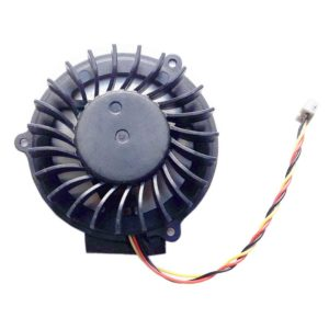 Вентилятор, кулер для ноутбука MSI EX600, EX700, GX400, PR600, VR200, VR201 3-pin Original Оригинал Тип 2, Тип B, Версия 2 (6010H05F PF3)