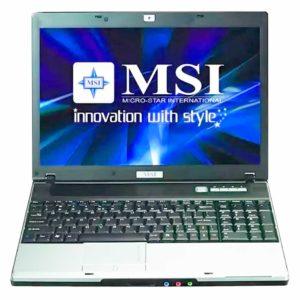 Запчасти для ноутбука MSI EX600