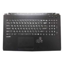 Верхняя часть корпуса с клавиатурой для ноутбука MSI GL62 без тачпада (E2P-6J4C612-P89, 3076J4C612P89, 150930-013, V143422DK1 RU, S1N3ERU, S1N3ERU2V1SA000) Б/У