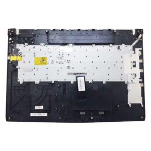 Верхняя часть корпуса с клавиатурой для ноутбука MSI GL72, GL72 7QF без тачпада (E2P-793C222-P89, E2M-793-KB-S-HG0, 307793C222P89, 160408-006, V143422DK1 RU, S1N3ERU, S1N3ERU2V1SA000) Б/У