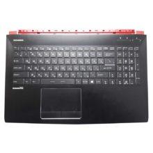 Верхняя часть корпуса с клавиатурой и подсветкой для ноутбука MSI GE62 без тачпада (E2P-6J1C214-Y31, E2P-6J102XX-Y31, 3076J1C216Y31, V143422FK1 RU, S1N3ERU, S1N3ERU2T1SA000) Б/У
