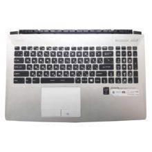Верхняя часть корпуса с клавиатурой и подсветкой для ноутбука MSI PE60 без тачпада (E2P-6J10224-Y31, E2P-6J102XX-31, 3076J1C115Y31, V143422GK1 RU, S1N3ERU, S1N3ERU2U1SA000) Б/У