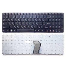 Клавиатура для ноутбука Lenovo G580, G585, G780, V580, Z580, Z585, Z780 Black Черная (340-09A-US)