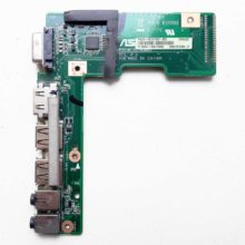 Плата 2xUSB, HDMI, VGA, Audio для ноутбука Asus K52, A52, X52 (K52JR_IO_BOARD REV. 2.3, 60-NZIIO1000-B02, 69N0IHB10B02-01)