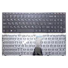 Клавиатура для ноутбука Lenovo G50-30, G50-45, G50-70, G50-70A, G50-75, S500, Z50-70, Z50-75 с рамкой, Black Черная (HC02-A US)