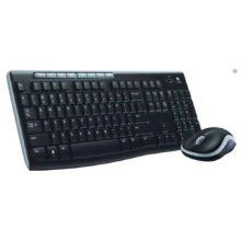 Комплект - клавиатура + мышь Logitech Wireless Combo MK270 беспроводной, Black Черный (920-004518)