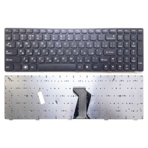Клавиатура для ноутбука Lenovo G570, G575, B570, V570, B580, B590, Z560, Z565 Black Чёрная (JL-0368US, LSD340-1US, JD340-09A)