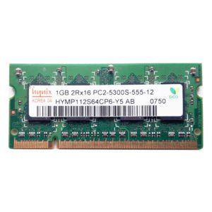 Модуль памяти SO-DIMM DDR2 1024 Mb PC-5300 667 Mhz Hynix