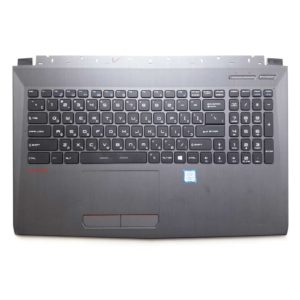 Верхняя часть корпуса с клавиатурой для ноутбука MSI GV62 без тачпада (3076J5C815Y87, INM16JTP01K5101, V143422DK1 RU, S1N3ERU, S1N3ERU2V1SA000) Б/У