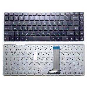 Клавиатура для ноутбука Asus A450, D451, D451E, D451V, D451VE, F401E, F450, F450CA, F450CC, F450JF, F450VB, F450VC, X451, X451C, X451CA, X451E, X451M, X451MA, X452, X453 без рамки, Black Черная (YXK2074, G160830) Донор