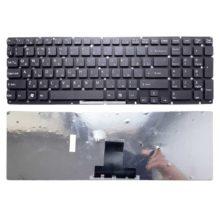 Клавиатура для ноутбука Sony Vaio VPC-EB, VPCEB Black Черная, без рамки (V1117-US)