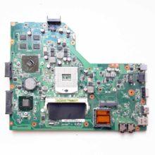 Материнская плата для ноутбука Asus A54H, A54HR, A54HY, A54LY, K54H, K54HR, K54HY, K54LY, X54H, X54HR, X54HY, X54LY Video AMD Mobility Radeon HD 6470M/7470M 1 ГБ (K54LY MAIN BOARD REV. 2.1, 60-N9EMB1000-A14)