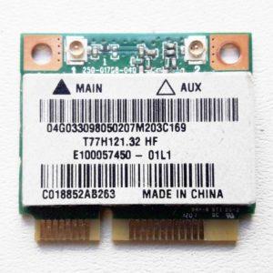 Модуль Mini PCI-E Wi-Fi 802.11b/g/n для ноутбука Asus A54H, A54HR, A54HY, A54LY, K54H, K54HR, K54HY, K54LY, X54H, X54HR, X54HY, X54LY (T77H121.32 HF)