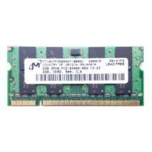 Модуль памяти SO-DDR-II 2048 Mb PC-6400 800 Mhz Micron (MT16HTF25664HY-800G1)