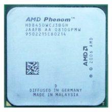 Процессор AMD Phenom X3 8450 AM2+ 2100 MHz Кэш 2048 КБ (HD8450WCJ3BGH)