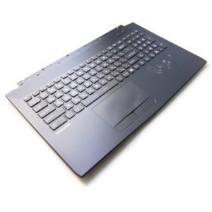 Верхняя часть корпуса с клавиатурой для ноутбука MSI GL62, GL62M без тачпада (E2P-6J4C714-P89, 3076J4C714P89, V143422DK1 RU, S1N3ERU, S1N3ERU2V1SA000) Б/У