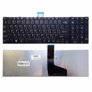 Клавиатура для ноутбука Toshiba Satellite C50, C70, C70D, C75, C75D, C850, C850D, C855, C855D, C870, C870D, C875, C875D, L50, L850, L850D, L855, L855D, L870, L870D, L875, L875D, P870, P875, P850, P855 Black Черная (MB360-004, C850-US)