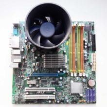 Материнская плата Acer MG43M Intel G43 4xDDR3 1xPCI-E x16 1xPCI-E x1 2xPCI 6xSATA 3Gb/s 1xFDD 5.1CH LAN 1000 Мбит/с LGA775 mATX + CPU Celeron + Система охлаждения